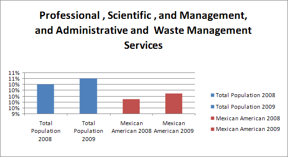 Professional, Scientific, and Mgmt, Admin and Waste Mgmt Services